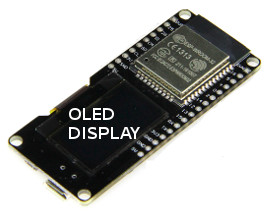 Micropython for ESP 32 with WiFi and OLED display